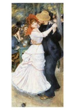 Danse à Bougival Prints by Pierre-Auguste Renoir