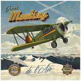 Grand meeting Posters van Bruno Pozzo