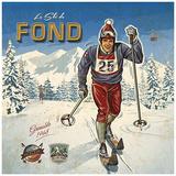 Ski fond Prints by Bruno Pozzo