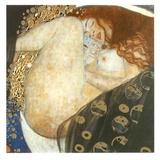 Danaë Póster por Gustav Klimt