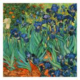 Iris (Détail) Posters av Vincent van Gogh
