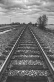 Tracks Through the Central Valley, Sacramento California Photographic Print by Vincent James