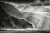 Sacred Light and Mist at Na Pali Coast  Kauai Hawaii
