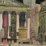 The Royal Exchange, London Reproduction procédé giclée par Susan Brown