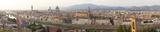 Florence View Panorama Poster von Peter Adams