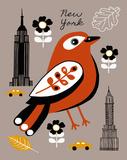 City Greetings III Stampe di Clara Wells