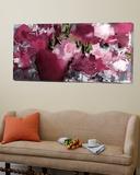 Purple flowers Poster by Doris Savard