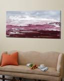 Calm purple Prints by Doris Savard