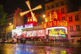 Moulin Rouge Copy Photographic Print by Marco Carmassi
