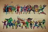 Marvel Comics - Line Up Stampe