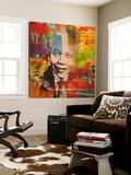 Mandela Kunstdruck von  Micha