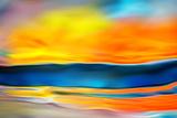 Der Fluss (Miniatur) Fotografie-Druck von Ursula Abresch