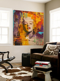 Marilyn 3 Posters av  Micha