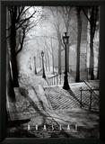 Les Escaliers de Montmartre, Paris Prints by  Brassaï