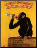 Anissetta Evangelisti, Liquore Da Dessert Mounted Print