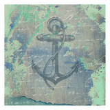 Nautical Watercolor Posters por Sheldon Lewis