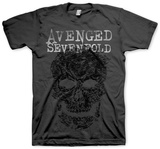 Avenged Sevenfold - Grey Skull T-paidat