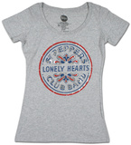 Women's: The Beatles - Sgt. Peppers Foil Tシャツ