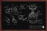 Doctor Who - Chalk Board Prints