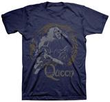 Queen - News of the World Vintage Maglietta