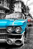 Classic Cars of Miami Beach Fotografisk trykk av Philippe Hugonnard