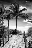 Boardwalk - Miami Beach - Florida - USA Photographic Print by Philippe Hugonnard