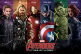 Avengers Age Of Ultron - Team Poster