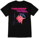 Black Sabbath - Paranoid Motion Trails Tshirt