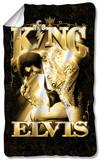 Elvis - The King Fleece Blanket Fleece Blanket