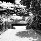 Boardwalk on the Beach - Miami - Florida - United States Fotografie-Druck von Philippe Hugonnard