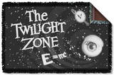 Twilight Zone - Another Dimension Woven Throw Throw Blanket
