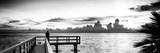 Pier at Sunset Fotografisk tryk af Philippe Hugonnard