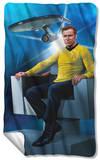 Star Trek - Captains Chair Fleece Blanket Fleece Blanket