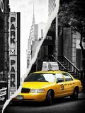Dual Torn Posters Series - New York City Fotografie-Druck von Philippe Hugonnard