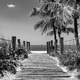 Boardwalk on the Beach - Key West - Florida Reproduction photographique par Philippe Hugonnard