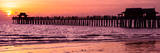 Naples Florida Pier at Sunset Fotoprint av Philippe Hugonnard