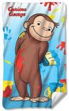 Curious George - Paint Fleece Blanket Fleece Blanket