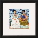 The Two Fridas, c.1939 Arte por Frida Kahlo