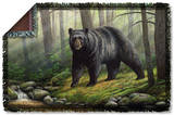 Wild Wings - Woodland Morning 2 Woven Throw Throw Blanket