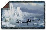 Wild Wings - Glacier's Edge 2 Woven Throw Throw Blanket