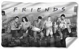 Friends - Break Time Fleece Blanket Fleece Blanket