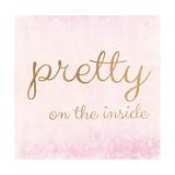 Pretty on the Inside Pink Giclée-Premiumdruck von Miyo Amori