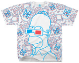 Simpsons - 3D Homer T-shirts
