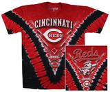 MLB - Reds V Dye T-shirts