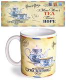 Postcard Tea Mug Becher