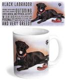 Black Labrador Mug Mug