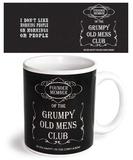 Grumpy Old Man Mug Taza