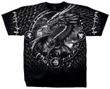 Fantasy - Dragon Dreamcatcher T-skjorter