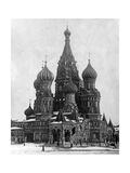 Basilius-Kathedrale in Moskau Photographic Print by Scherl Süddeutsche Zeitung Photo