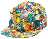Pokemon - AOP Sublimated Cap Chapéu